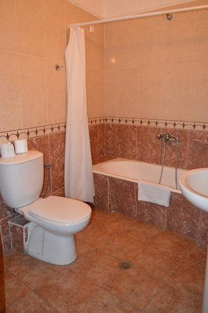 Hotel Suites Blue and Spa : Bagno camera