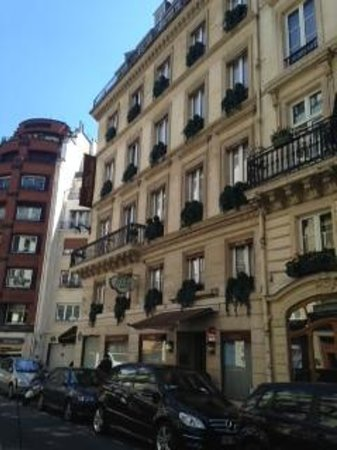 Hotel France d'Antin: esterno