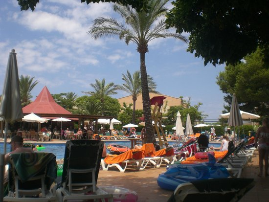 Zafiro Menorca: Plenty of shade as well