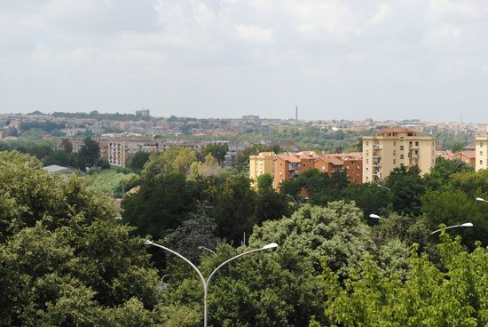 Hotel Pulitzer Roma : Vue de la terrasse