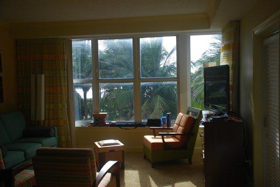 Marriott's Ocean Pointe: View from second floor