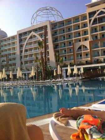Alan Xafira Deluxe Resort & Spa : Pool view