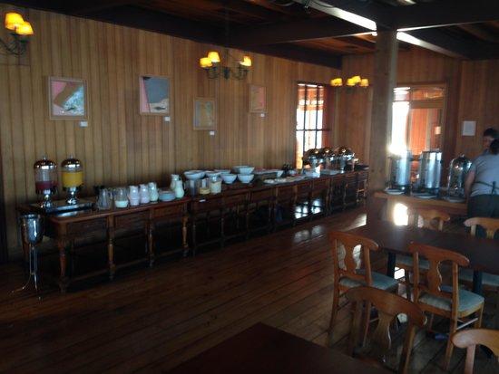 Cabaña del Lago Hotel: Café da manhã