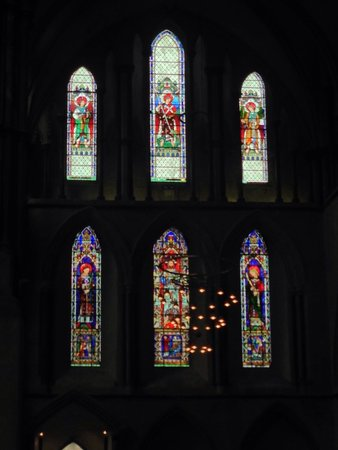 Rochester Cathedral: Stain glass windows