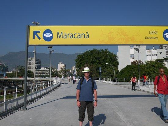 Madson Araujo, Rio De Janeiro Tour: Tour du stade de Maracana.