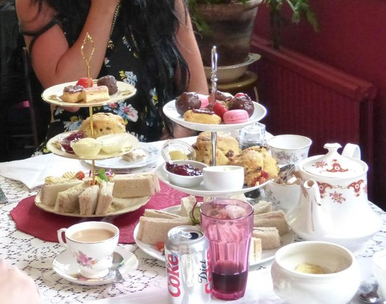 Healey Dell Heritage Centre and Tea Rooms: Afternoon Tea selection - delicious!
