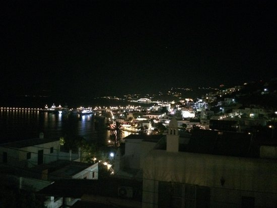 Petasos Town Hotel: From the Roof Top
