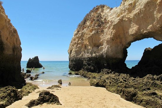Alvor Baia Resort Hotel: Beach