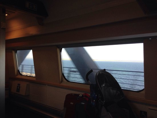 Puente de Oresund: Zug fahrt Kopenhagen-->Malmö