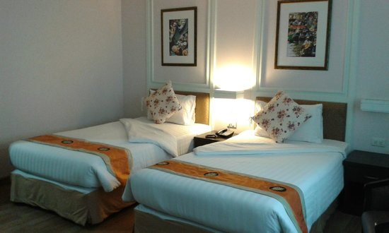 Vista Residence Bangkok: Love the design of the room