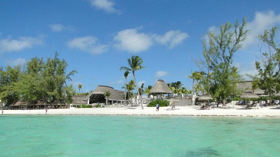 Ambre Resort & Spa: view of the resort from the ocean