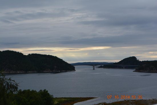 Aure Municipality, Norwegia: View to coastal islands