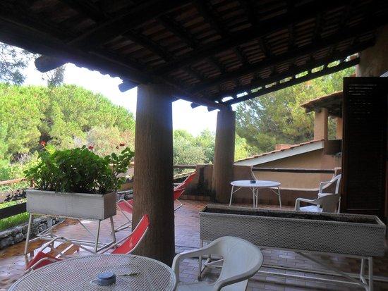 Kings Residence Hotel: terrazza camera