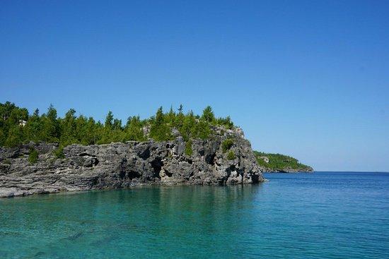 Bruce Peninsula National Park : Overlooking view