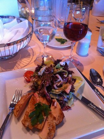 Radisson Blu Park Hotel & Conference Centre, Dresden: Meal example.