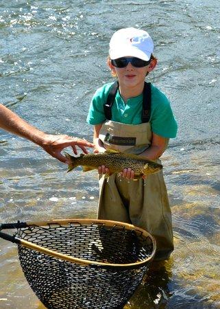 Utah Pro Fly Fishing Tours : Happy Moment!