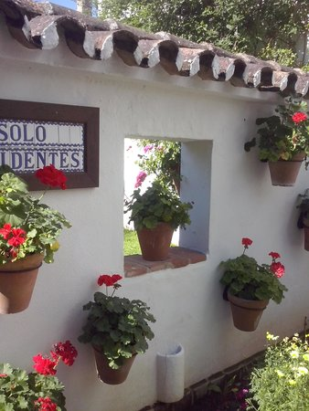 Molino del Santo: A small glimpse of the pretty gardens