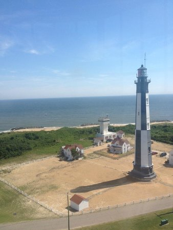Cape Henry Lighthouse: View from the top