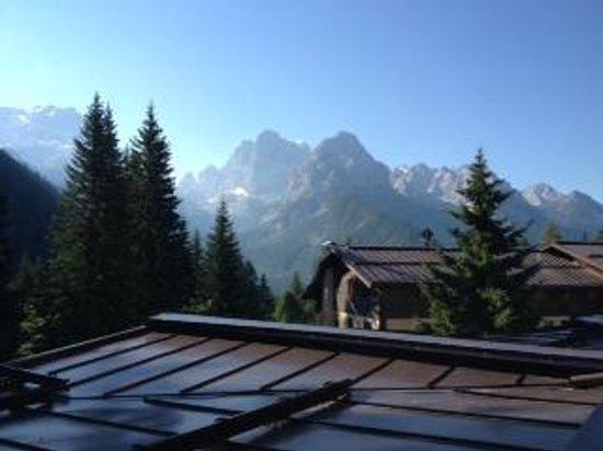 Hotel Lorenzetti : Vista sulle Dolomiti