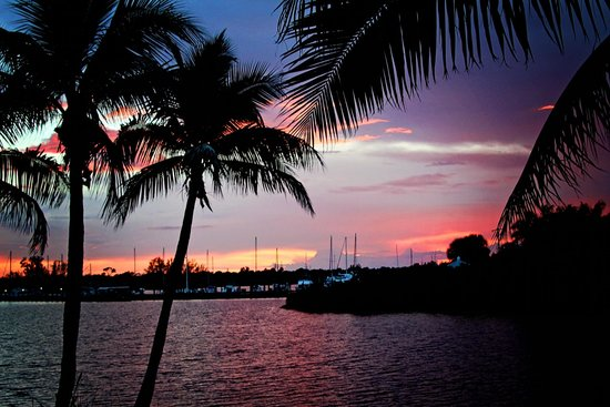 Club Med Sandpiper Bay : Sunset at the Beach