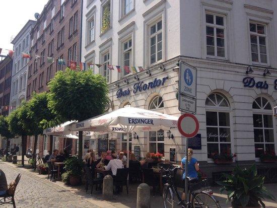 Das Kontor: Restaurant outside