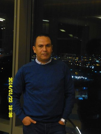 Hilton Bursa Convention Center & Spa: from the tenth floor