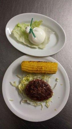 """Pepe Nero: L' """"Americano"""" piatto combinato."""