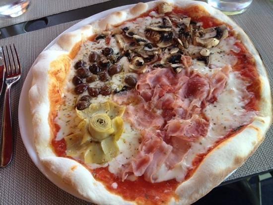 Attimi : pizza 4 saisons