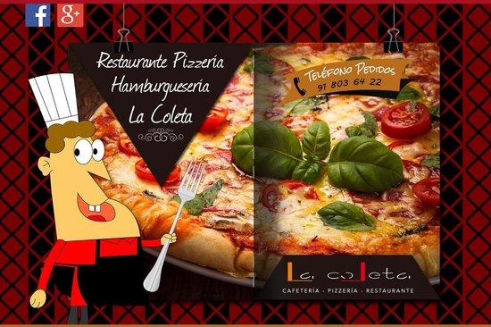 Restaurant Pizzería La Coleta: Restaurante Pizzería La Coleta