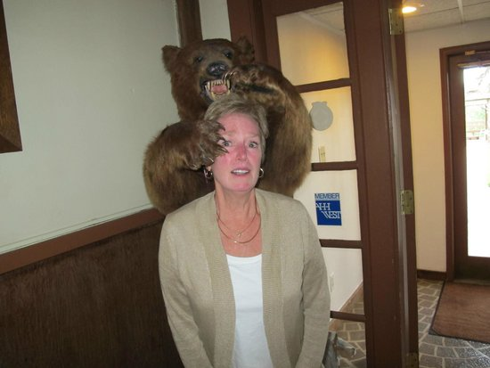 The Lodge Resort and Spa: One needs to be careful of the bears