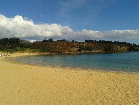 La spiaggia più ad est di Agii Apostoli
