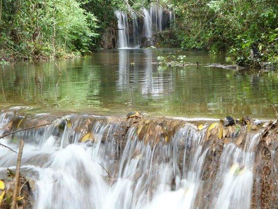 Estancia Mimosa Ecoturismo: Cachoeiras lindíssimas!!! Para apreciar e mergulhar!