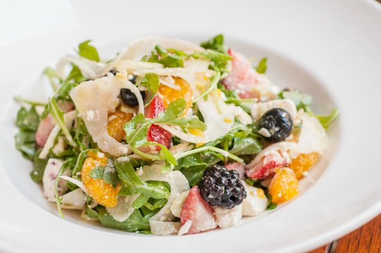 The Atlantic Grille - The Seagate Hotel & Spa : Summer salads