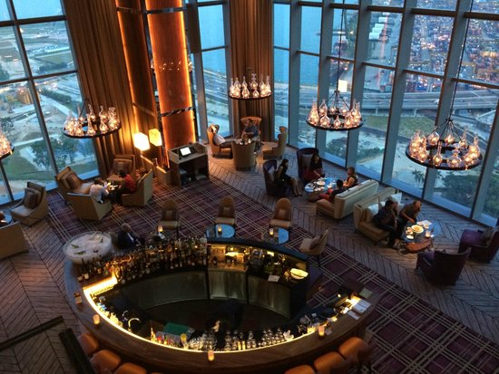 View Of Hotel Lobby Lounge On 32 Floor Picture Of Cook