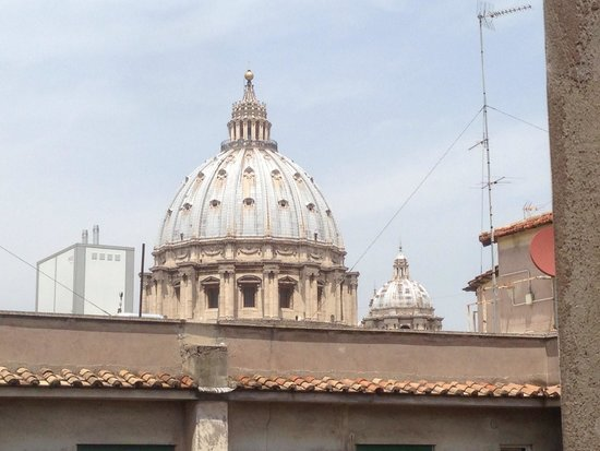 In Front Of The Dome : Vista dal balcone