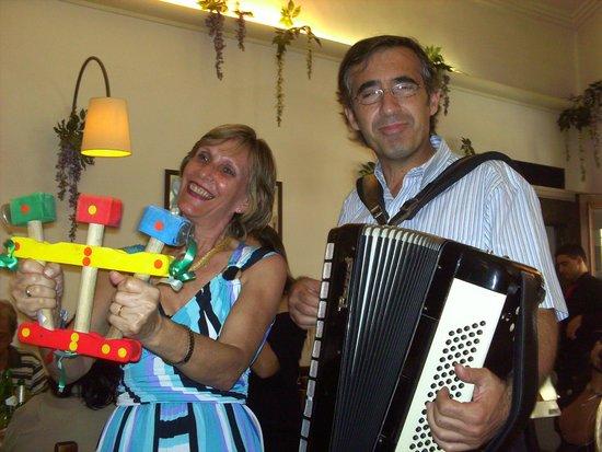 Opera Ristorante: tocando tarantela