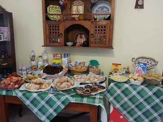 Villa Pia: la nostra colazione