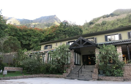 Belmond Sanctuary Lodge: ロッジ外観