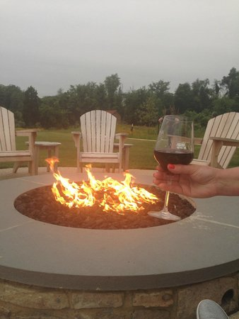 Salamander Resort & Spa: I did enjoy the outdoor fire pits in the evening