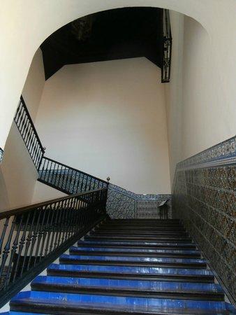 Alcázar: scalone di accesso al cuarto real