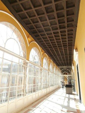 Alcázar: vetrata al cuarto real