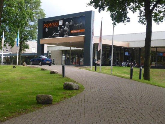 Hotel Papendal: vooraanzicht