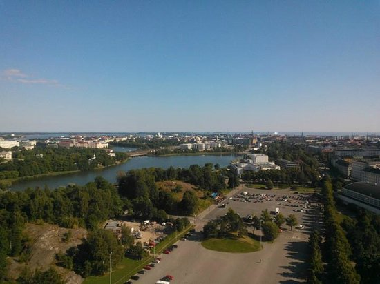 Olympic Stadium (Olympiastadion): View to the South