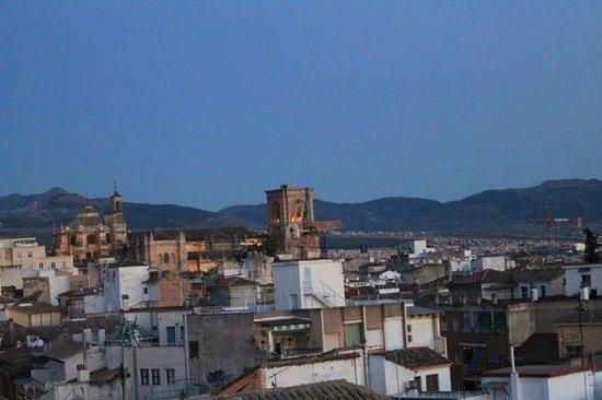 Itinere Hostel: vistas desde atrás
