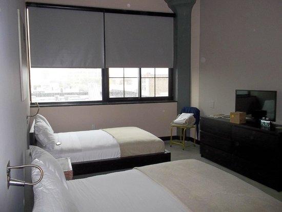 The Paper Factory Hotel : Vista habitacion doble