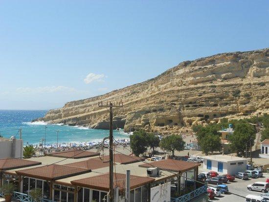 Hotel Zafiria : Vista dal terrazzino