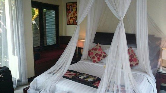 The Bali Dream Suite Villa : Bedroom