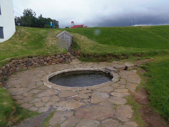 Snorrastofa: Snorri's Pool