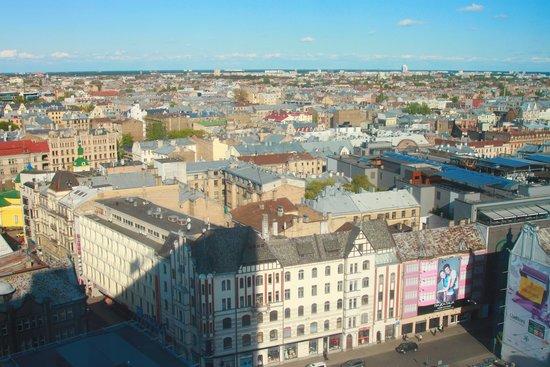 Radisson Blu Latvija Conference & Spa Hotel: From the upper floors