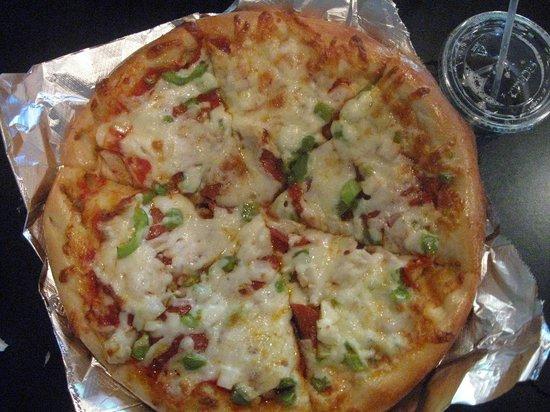 Zwanzig Z Pizza : 10-inch combo